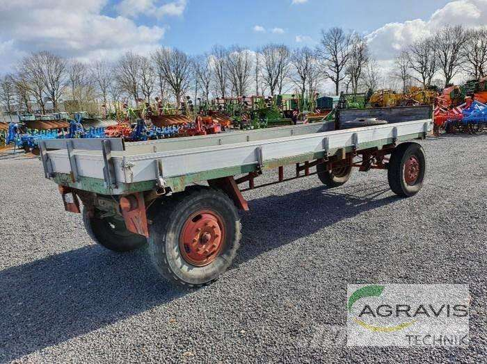 KRONE PLATTFORMWAGEN ZU  - Photo 3